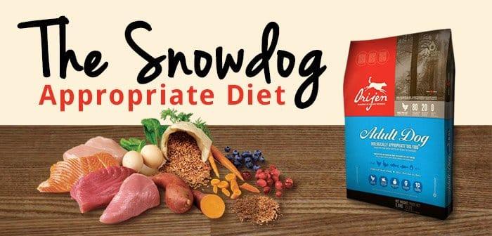 Husky and malamute diet
